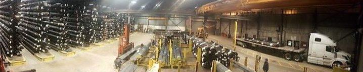 Precision tubing warehouse distribution