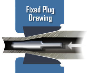 DOM Fixed Plug Mandrel Cold Drawing Process