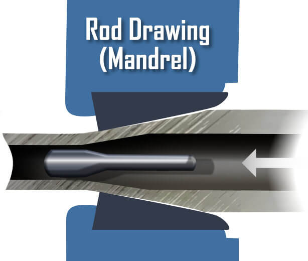 Rod Drawing - DOM Drawn Over Mandrel
